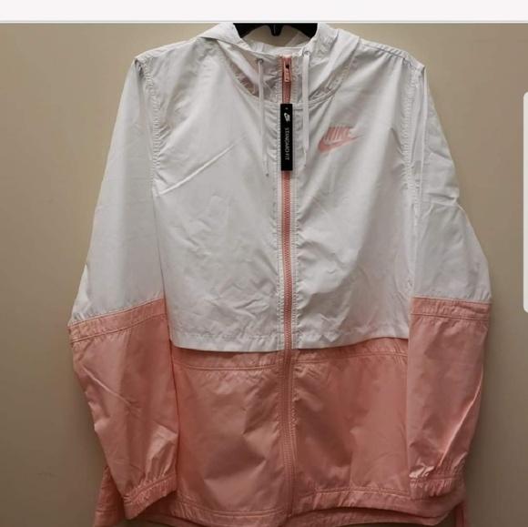 Nike Jackets \u0026 Coats | Pink And White